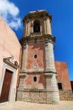 Église de rue Giuliano dans Erice (Sicile) Images stock