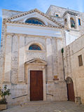 Église de rue Jean-Baptist. Giovinazzo. Apulia. Photo libre de droits