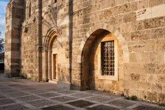 Église de rue John de croisé de Byblos Images libres de droits