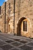Église de rue John de croisé de Byblos Photos stock