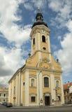 Église de rue John de Nepomuk Image libre de droits