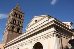 Église de rue Laurent dans Tivoli Images libres de droits