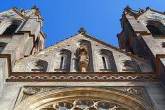 Église de rue Ludmilla Photographie stock libre de droits