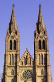 Église de rue Ludmilla Image libre de droits