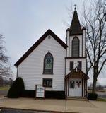 Église de rue Mary Images stock
