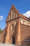 Église de rue Mary, Varsovie. photo stock