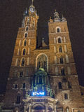 Église de rue Marys Photo stock