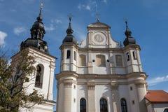 Église de rue Michael à Vilnius, Litnuania photographie stock libre de droits