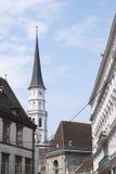 Église de rue Michaels Photographie stock libre de droits