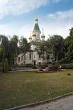 Église de rue Nikolai Images libres de droits