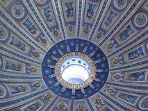 Église de rue Peter à Vatican Images libres de droits