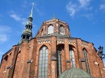 Église de rue Peter, Riga Photos stock