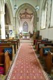 Église de rue Peter, Wearmouth Image libre de droits