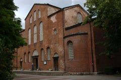 Église de rue Sofia Images libres de droits