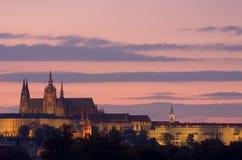 Église de rue Vit à Prague Photos libres de droits