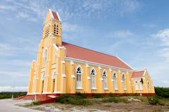 Église de rue Willibrordus en le Curaçao, Hollandes images stock