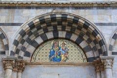 Église de s'Chiara à Pise Photos libres de droits