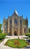 Église de saint Barbara, République Tchèque de Kutna Hora Photographie stock
