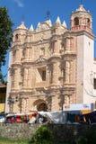 Église de saint Domingo chez San Cristobal de Las Casas Photographie stock libre de droits