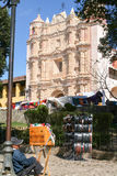 Église de saint Domingo chez San Cristobal de Las Casas Photo stock