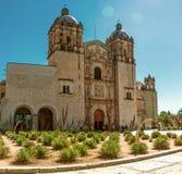 Église de Saint-Domingue de guzman Oaxaca, Mexique Photo stock