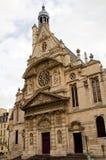 Église de Saint Etienne à Paris Photos libres de droits