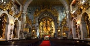 Église de saint Francisco à Guimaraes La ville Guimaraes a été arrangée au 9ème siècle, quand il wa Images libres de droits