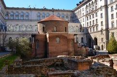 Église de saint George, Sofia photos stock