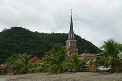 Église de saint Henry, île de la Martinique - Lesser Antilles, territoire d'outre-mer français images libres de droits