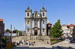 Église de saint Ildefonso (Igreja De Santo Ildefonso), Porto image libre de droits