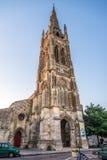 Église de saint Jean Baptist dans Libourne Photographie stock