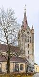Église de saint John dans Cesis, Lettonie, l'Europe Images libres de droits
