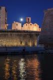 Église de Saint Laurent à Marseille images stock