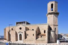 Église de Saint Laurent à Marseille, France image stock