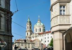 Église de Saint-Laurent, Prague, République Tchèque photos stock