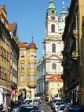 Église de Saint-Laurent, Prague, République Tchèque image libre de droits