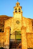Église de saint Maria dans Tivat Monténégro images stock