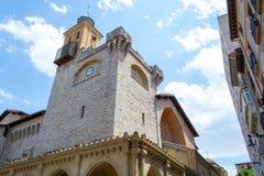 Église de Saint-Nicolas à Pamplona Photo libre de droits