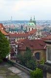 Église de Saint Nicolas à Prague Photos libres de droits