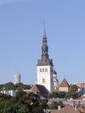 Église de Saint-Nicolas à Tallinn Photo libre de droits
