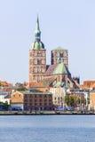 Église de Saint-Nicolas chez Stralsund Images libres de droits