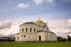 Église de Saint-Nicolas dans la forteresse de Brest Photographie stock libre de droits