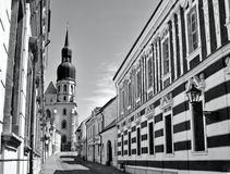 Église de Saint Nicolas dans Trnava Photographie stock