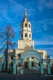 Église de Saint-Nicolas le Wonderworker moscou photographie stock