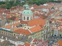 Église de Saint-Nicolas, Lesser Town, Prague, République Tchèque Photographie stock libre de droits