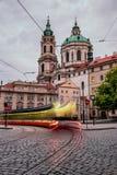 Église de Saint-Nicolas, Prague, République Tchèque Photographie stock