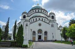 Église de saint Sava à Belgrade image libre de droits