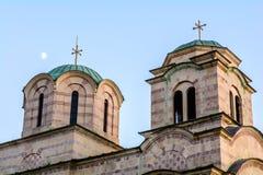 Église de saint Sava dans Tivat, Monténégro images stock