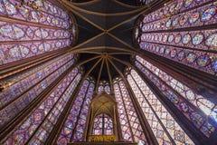 Église de Sainte Chapelle, Paris, France images libres de droits