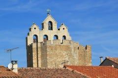 Église de Saintes-Maries-De-La-mer, France photographie stock libre de droits